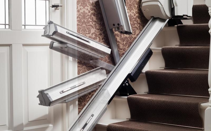 Pujaescales Homeglide rail abatible